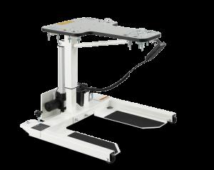 Elektroniskt höj-/och sänkbart bord för ergometer